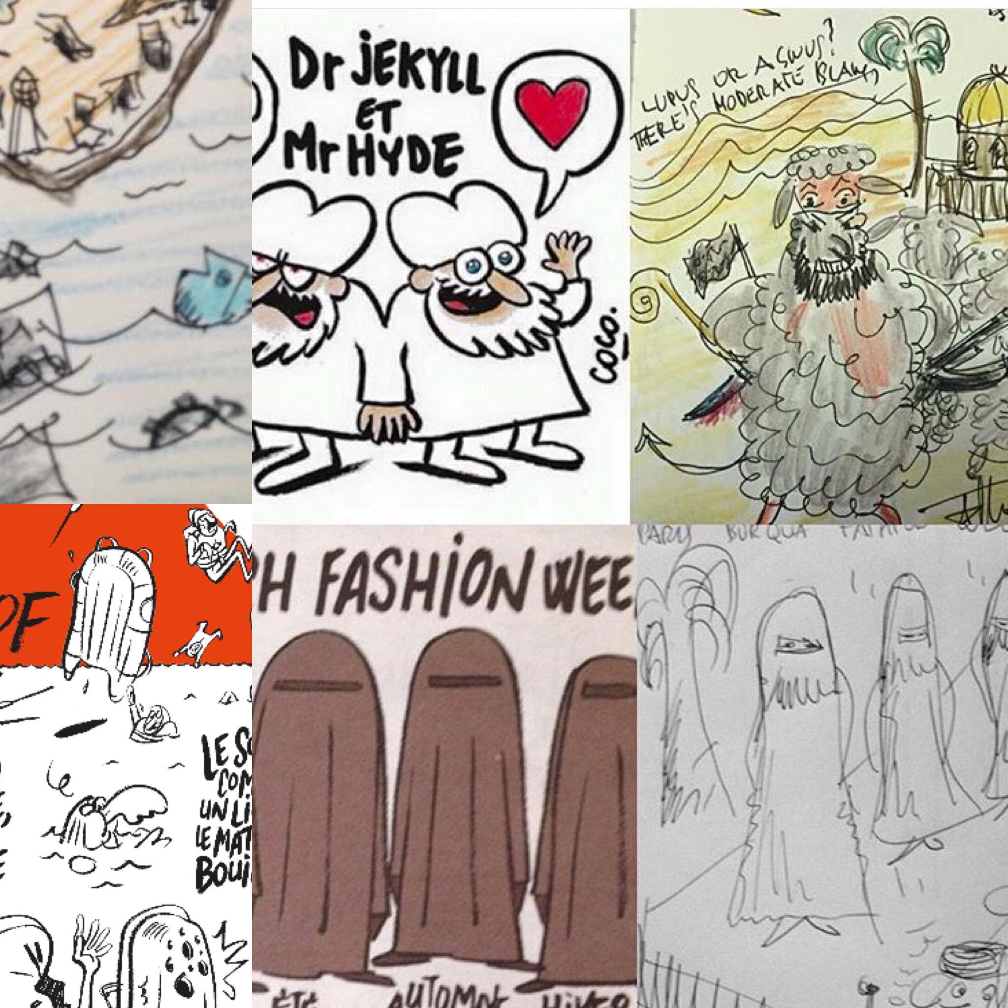 ReseArt e Charlie Hebdo