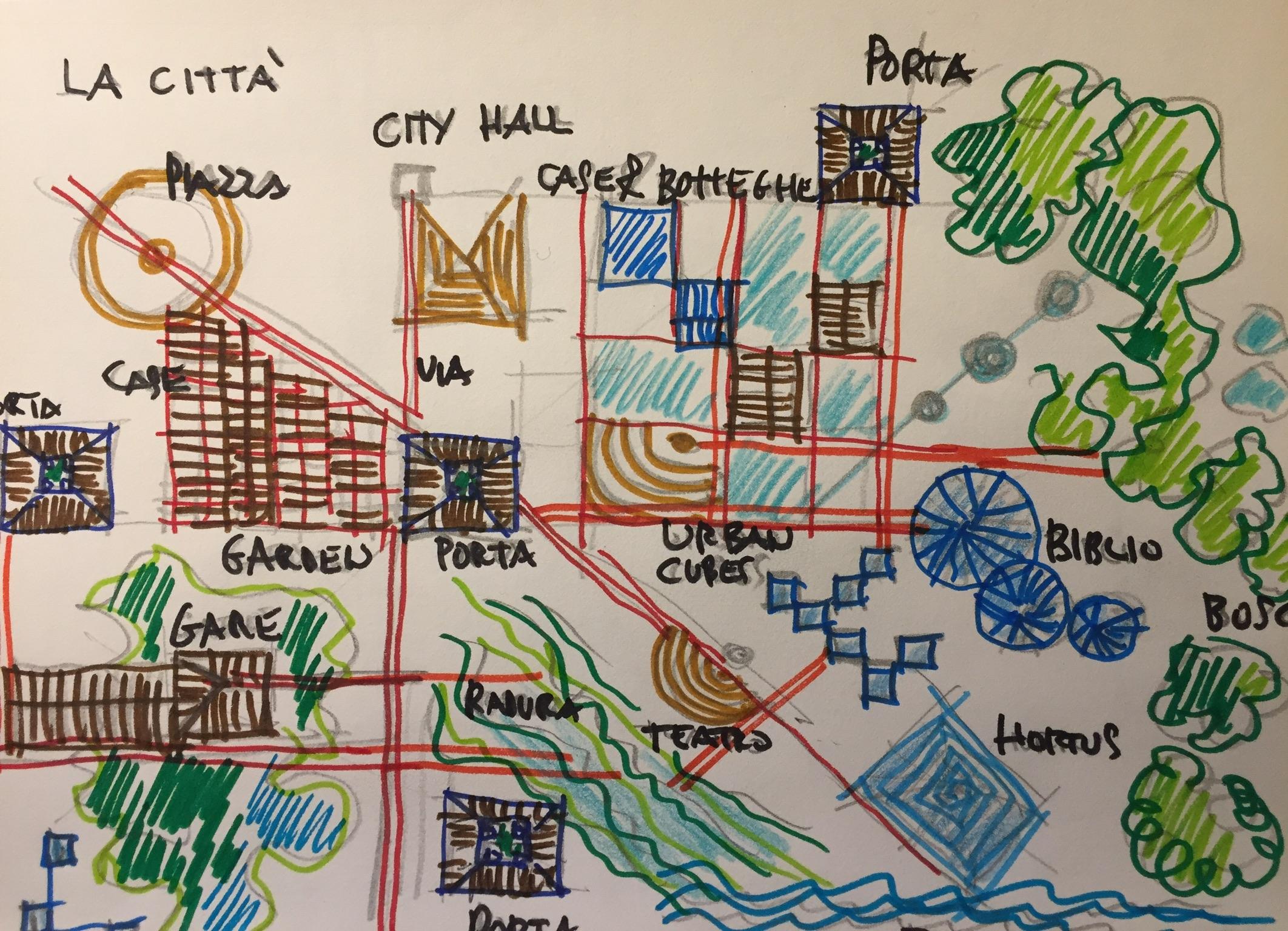 La città: architettura educante