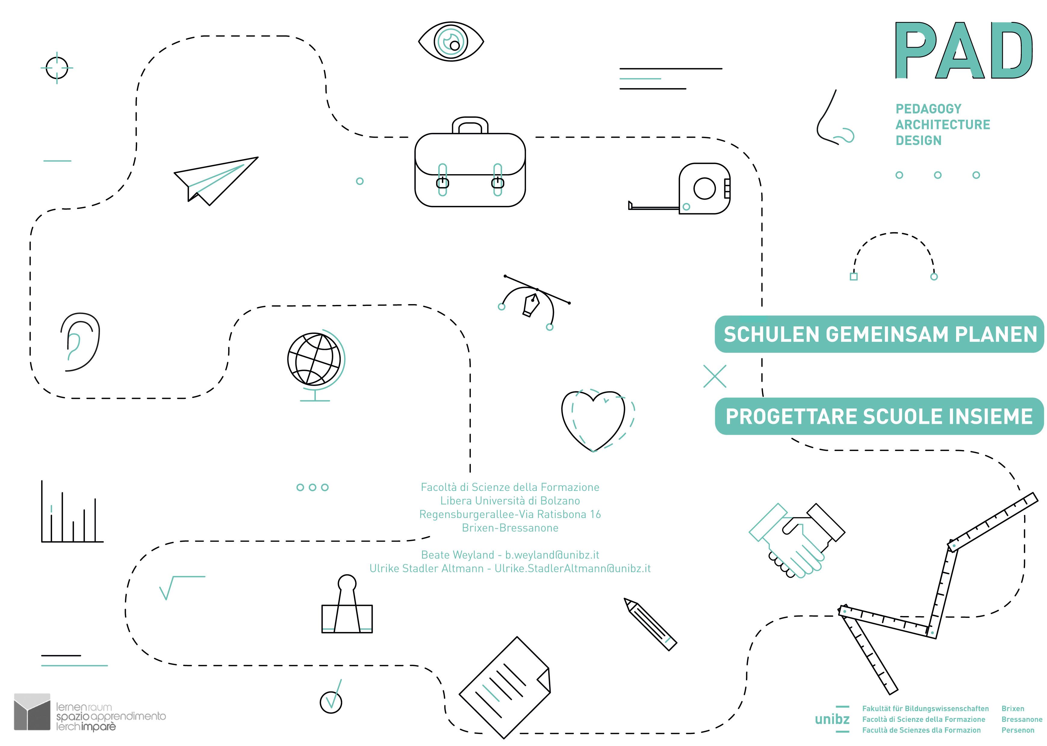 """Finestra sulla città educante alla Mostra Convegno """"Progettare scuole insieme"""" a Bressanone"""